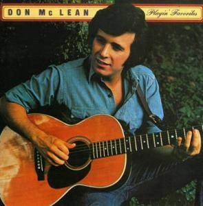 Don McLean: Playin' Favorites - Cover