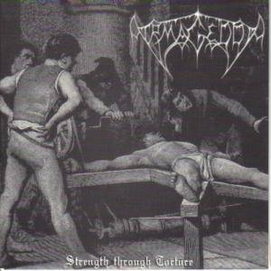 Cover - Armagedda: Strength Through Torture