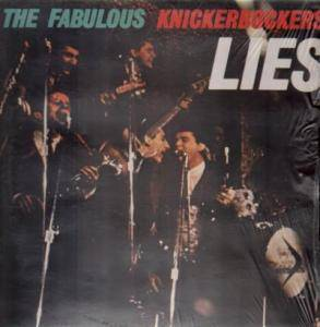 Cover - Knickerbockers, The: Lies