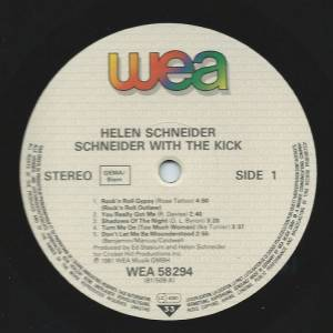Schneider With The Kick: Schneider With The Kick (LP) - Bild 3