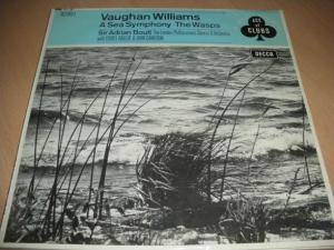 Cover - Ralph Vaughan Williams: Sea Smyphony - Music From The Wasps, A