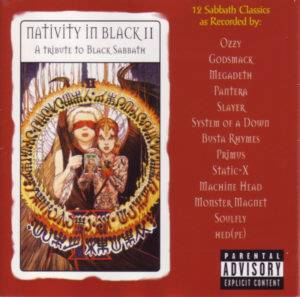 Nativity In Black II - Cover