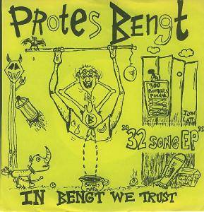 Protes Bengt: In Bengt We Trust - Cover