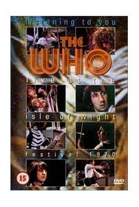 The Who: Live At The Isle Of Wight Festival 1970 - Cover