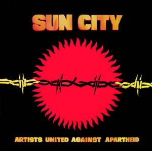 Artists United Against Apartheid: Sun City - Cover