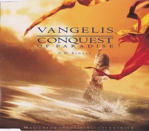 Vangelis: Conquest Of Paradise - Cover