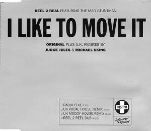 Cover - Reel 2 Real Feat. The Mad Stuntman: I Like To Move It