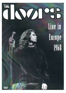 The Doors: Live In Europe 1968 - Cover