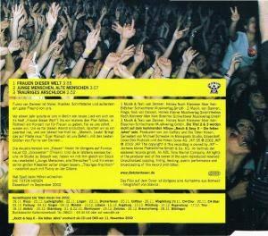 Die Toten Hosen: Frauen Dieser Welt (Single-CD) - Bild 2