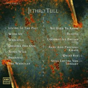 Jethro Tull: Through The Years (CD) - Bild 2