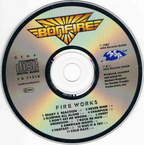 Bonfire: Fire Works (CD) - Bild 4