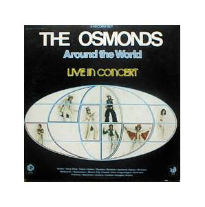 Cover - Osmonds, The: Around The World - Live In Concert