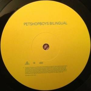 Pet Shop Boys: Bilingual (LP) - Bild 3