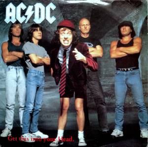 AC/DC: Get This Into Your Head - Cover