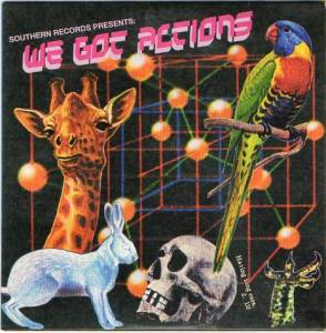 Cover - Alias & Tarsier: Southern Records Presents: We Got Actions