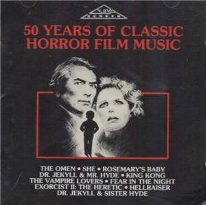 Omen And Other Themes - 50 Years Of Classic Horror Film Music, The - Cover