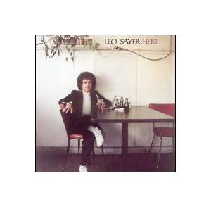 Cover - Leo Sayer: Here