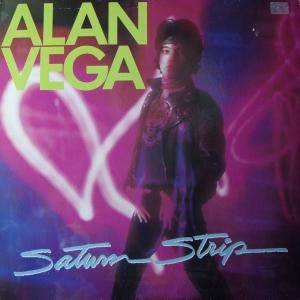 Cover - Alan Vega: Saturn Strip