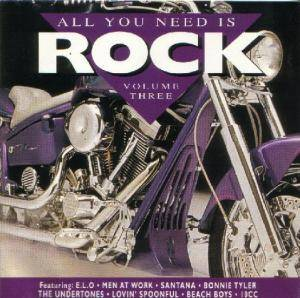 Cover - Gigolo Aunts: All You Need Is ROCK (Vol. 3)