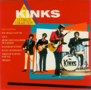 The Kinks: Ultimate Collection (Castle), The - Cover