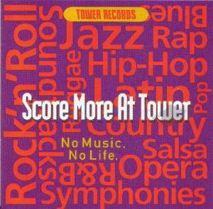 Cover - Mr. Bungle: Score More at Tower: No Music, No Life.