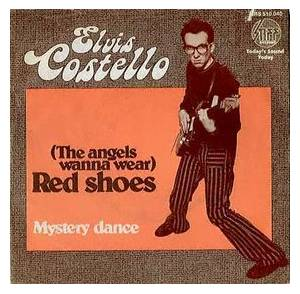 elvis costello the angels wanna wear red shoes 1977. Black Bedroom Furniture Sets. Home Design Ideas