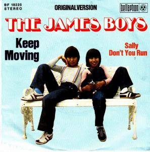 Cover - James Boys, The: Keep Moving