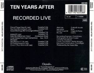 Ten Years After: Recorded Live (CD) - Bild 2