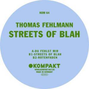 Cover - Thomas Fehlmann: Streets Of Blah
