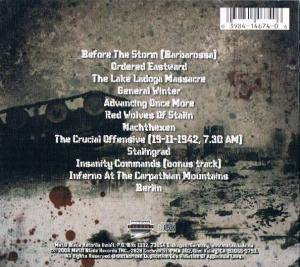 Hail Of Bullets: ...Of Frost And War (CD) - Bild 2