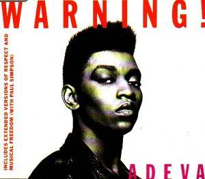 Adeva: Warning! - Cover