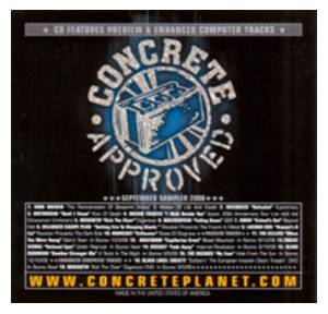 Cover - Hatebreed: Concrete Approved: September Sampler 2006