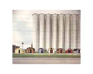 Cover - Butch Hancock: Silos And Utility Sheds -A Glitterhouse Compilation