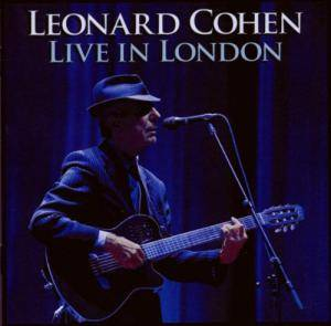 Leonard Cohen: Live In London - Cover