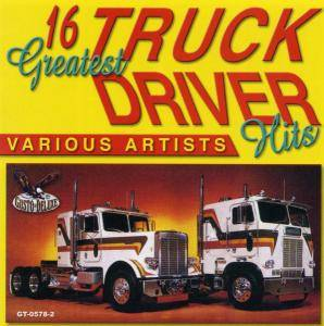Cover - Del Reeves: 16 Greatest Trucker Driver Hits