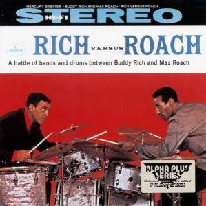 Cover - Buddy Rich: Rich Versus Roach