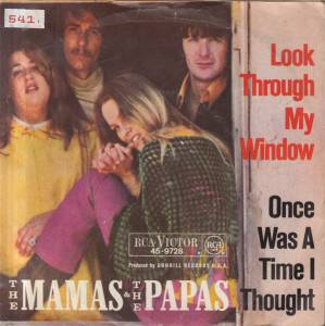 The Mamas & The Papas: Look Through My Window - Cover
