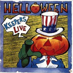 Helloween: Keepers Live - Cover
