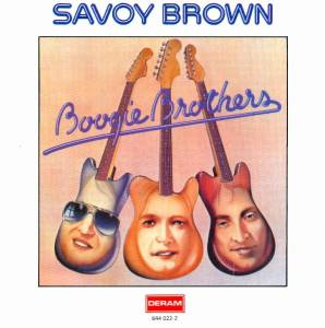Savoy Brown: Boogie Brothers - Cover