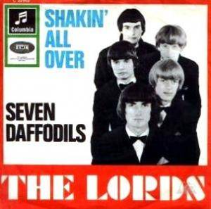 Cover - Lords, The: Shakin' All Over / Seven Daffodils