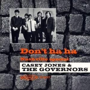 Cover - Casey Jones & The Governors: Don't Ha Ha