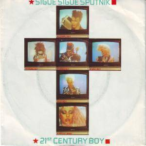 Sigue Sigue Sputnik: 21st Century Boy - Cover