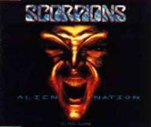 Scorpions: Alien Nation - Cover