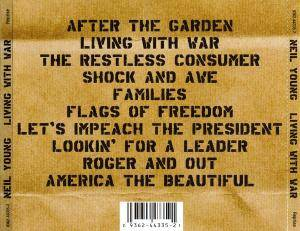 Neil Young: Living With War (CD) - Bild 4