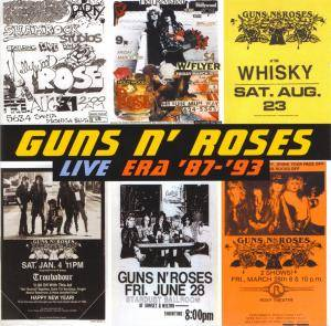 Guns N' Roses: Live Era '87-'93 - Cover
