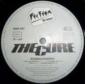 The Cure: Pornography (LP) - Bild 4