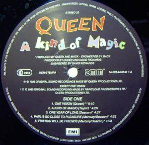 Queen: A Kind Of Magic (LP) - Bild 2