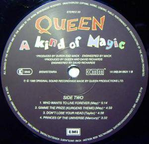 Queen: A Kind Of Magic (LP) - Bild 3