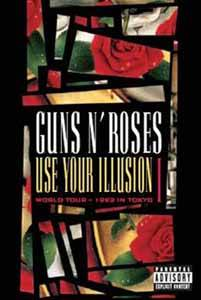 Guns N' Roses: Use Your Illusion World Tour - 1992 In Tokyo I - Cover