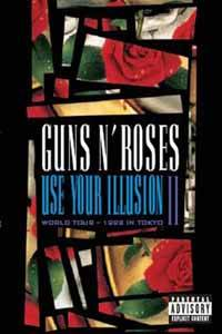 Guns N' Roses: Use Your Illusion World Tour - 1992 In Tokyo II - Cover